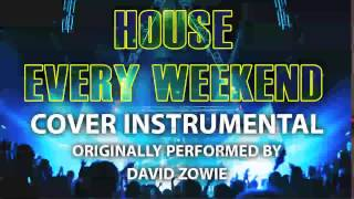 House Every Weekend (Cover Instrumental) [In the Style of David Zowie]
