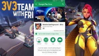 Cara download Mobile BattleGround - Blitz.APK Game baru !!