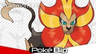 Pyroar  - (Pokémon) - Pokémon X et Y : Révélation de Pyroar (US)