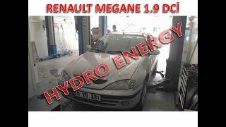 Renault Megane I UCR Hidrojen Yakıt Sistem montajı.