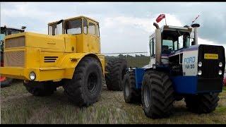 USA vs USSR Tractor pulling. Ford vs Kirovets