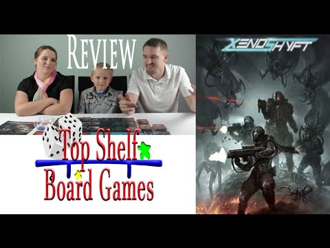 Top Shelf Board Games Review Xenoshyft Onslaught
