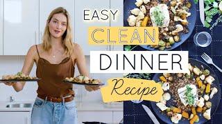 Easy Clean Dinner Recipe - Model Kitchen // Paleo Diet + Instructions // Sanne Vloet