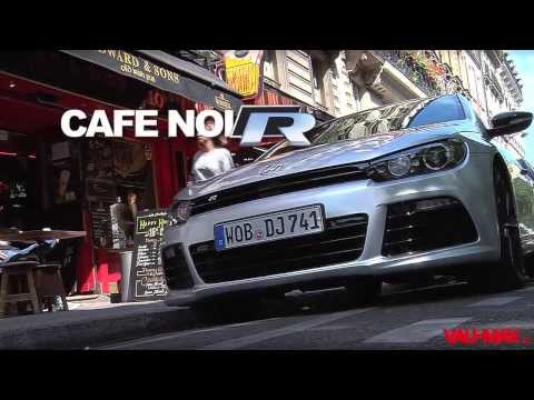 With the VW Scirocco R through Paris!