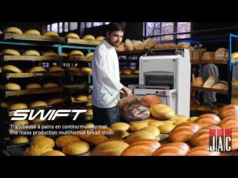video 1, La trancheuse à pains en série multiformat