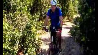 preview picture of video 'Mountain biking. Israel. Hefer Valley. По долине Хефер. Израиль.'