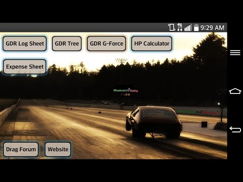 Video of Grassroots Drag Racing