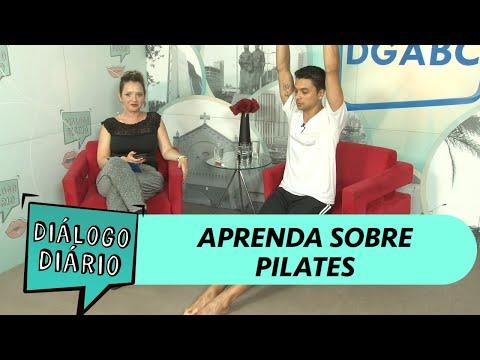 Diálogo Diário no ar com professor de Pilates