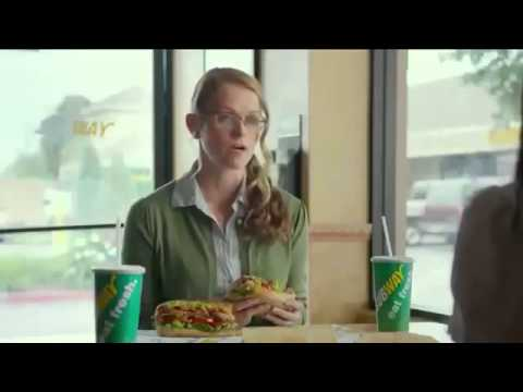 Funny Fast Food Commercials  Subway Commercial Collection