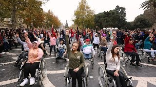 NO Twerk ON Wheelz Flashmob in Baku  | FLASHMOB Azerbaijan