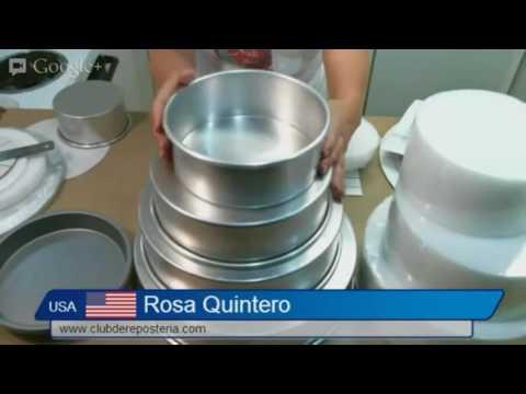 Cómo Definir Moldes y Tamaños de Tortas o Pasteles ? - Club de Reposteria