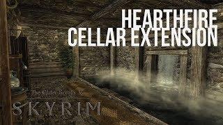Skyrim PS4 Mods: Hearthfire Cellar Extention (All 3 Houses)