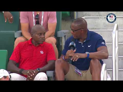 Carl Lewis Interview | 2021 USA Olympic track and field trials