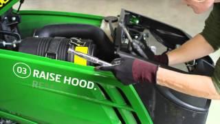 How To Change Your Fuel Filter - John Deere 1025R
