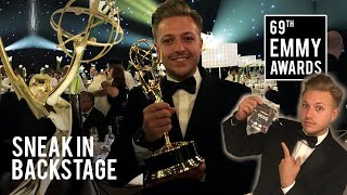 SNEAKING INTO THE EMMY AWARDS - LOS ANGELES