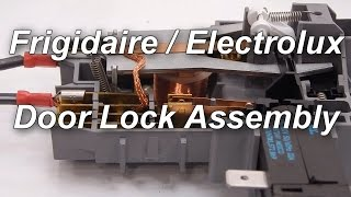 Frigidaire / Electrolux Front Load Washer Not Spinning - Door Lock Assembly
