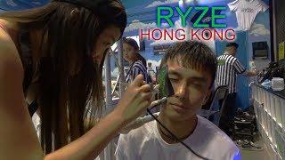 GETTING A FACE TATTOO IN RYZE! Trampoline & Lan Kwai Fong!