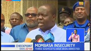 Matiang'i blames politician, drugs on re-emergence of criminal gangs, he vows to wipe them out