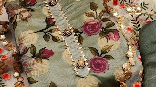 Fancy Dress Material ||Latest Cotton Salwar Suits ||Party Wear Collection ||Dress Material