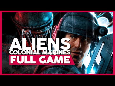 Aliens: Colonial Marines | Full Gameplay/Playthrough | PC 60fps | No Commentary