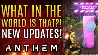 "Anthem - What in The World is THAT?! New World Event ""Leak!"" Plus: YOUR Free Play Ideas!"