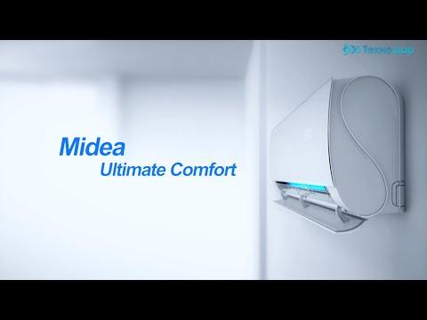 Видео обзор MIDEA MT-12N8D6-I/MBT-12N8D6-O. Доставка по городу - ТехноДар