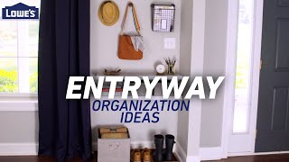HOME ENTRYWAY | Storage and Organization Solutions
