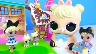 Куклы Лол Сюрприз! Мультик LOL Surprise Bigge Pets Видео для детей! Моя коллекция Огромных Лол