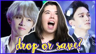 LETS`PLAY! DROP ONE SAVE ONE (MALE IDOLS EDITION)
