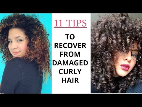 Video Tips To Recover From Damaged Curly Hair