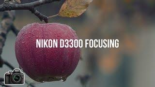 how to set focus to infinity nikon d3300