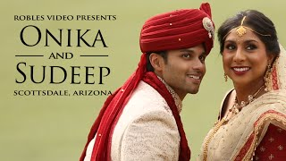 Onika Patel & Sudeep Barge - Cinematic Wedding Day Highlights (Gujarati)