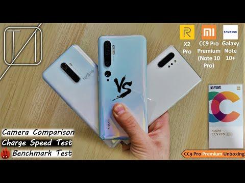 Xiaomi Mi Note 10 Pro (8P Lens) vs Realme X2 Pro vs Galaxy Note 10 Plus