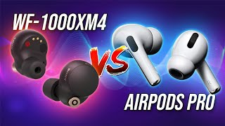Sony WF-1000XM4 vs AirPods Pro: Which should you buy?