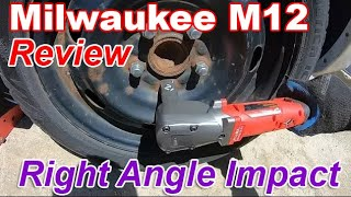 Milwaukee M12 Right Angle Impact Wrench Review