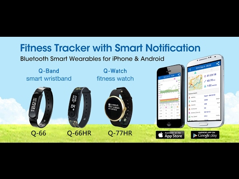 Q-66HR - Heart Rate Fitness Band