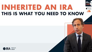 Adam Talks - Inherited an IRA What You Need To Know