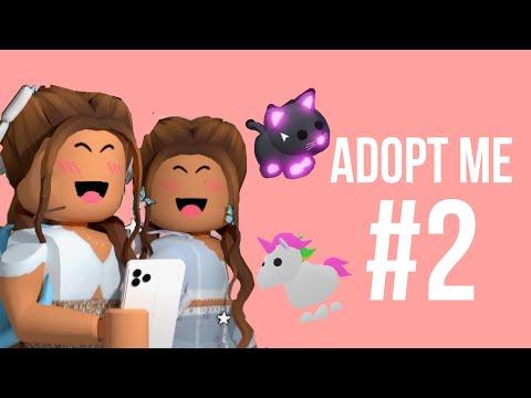 •adopt me #2 💞 // с подругой🌿🌺 // многодетная мать одиночка👶😿// купила дом💵🙈