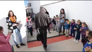 Despedida del profesor de Zufre