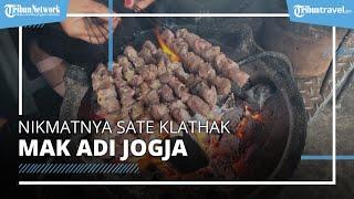 Mencicipi Lezatnya Sate Klathak Mak Adi Jogja, Buka sejak Tahun 1995