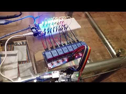 Elegoo 8 Kanal Relaismodul mit Arduino Uno R3 ansteuern
