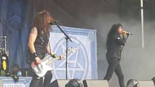 "Anthrax "" Indians "" Aftershock Discovery Park Sacramento CA 10-22-16"