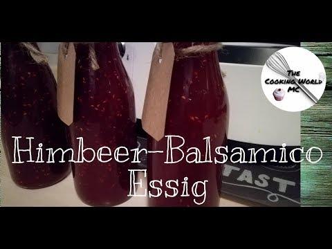 Himbeer Balsamico Essig ♥ Monsieur Cuisine Plus ® MC