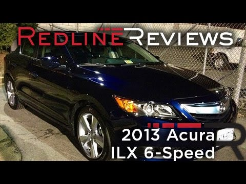 2013 Acura ILX 6-Speed – Redline: Review