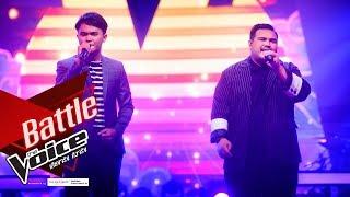จิ๋ว VS บาส - หัวใจทศกัณฐ์ - Battle - The Voice Thailand 2019 - 2 Dec 2019