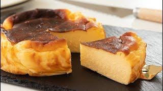 濃厚バスク風チーズケーキの作り方 Basque-style Baked Cheese Cake|HidaMari Cooking