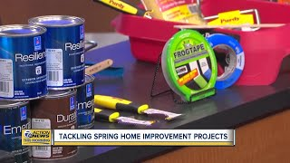 How To Tackle Spring Home Improvement Projects