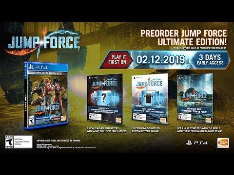 JUMP Force - Rurouni Kenshin Gameplay Trailer (2018)