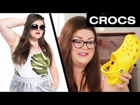Kristin Tries To Style Outfits With Crocs  • Ladylike