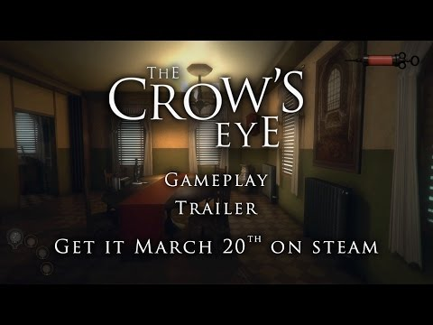 The Crow's Eye Gameplay Trailer | Puzzle horror adventure game thumbnail